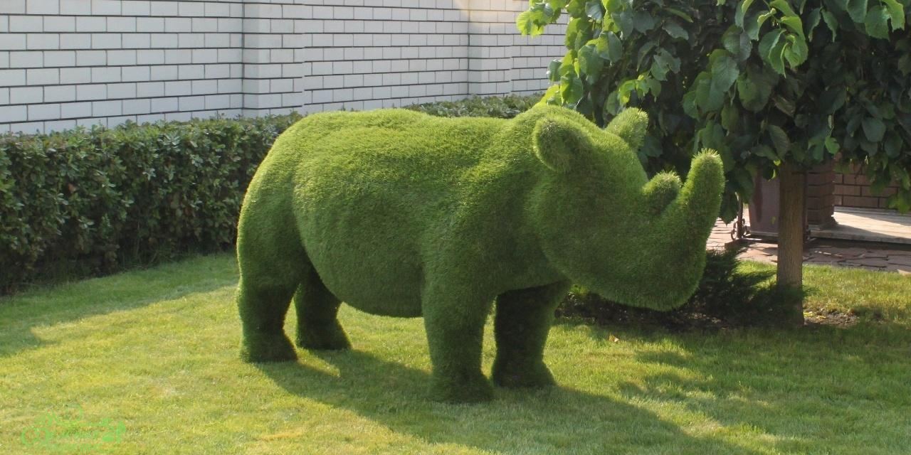 Садовые фигуры животных: формы, своими руками, мастер-класс 41
